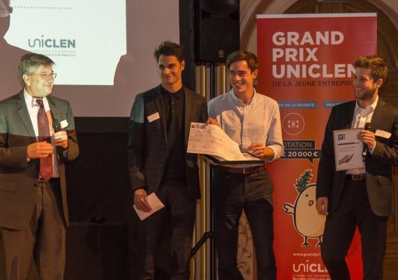 Remise des prix UNICLEN - édition 2015