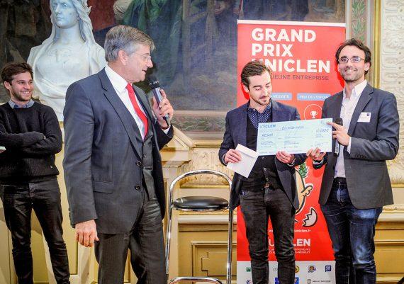 Remise des prix UNICLEN - édition 2016